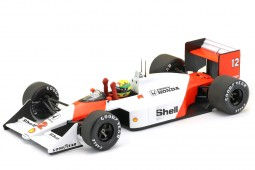 McLaren MP4/4 F1 World Champion 1988 A. Senna - Minichamps Scale 1:18 (543881892)