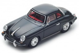 PORSCHE 365B T5 Hardtop Coupe 1961 - Spark Models Escala 1:43 (s4921)