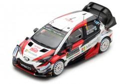 TOYOTA Yaris WRC Rally Monte Carlo 2018 J.M. Latvala / M. Anttila - Spark Scale 1:43 (s5957)
