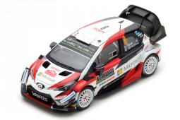 TOYOTA Yaris WRC Rally Monte Carlo 2018 O. Tanak / M. Jarveoja - Spark Escala 1:43 (s5958)