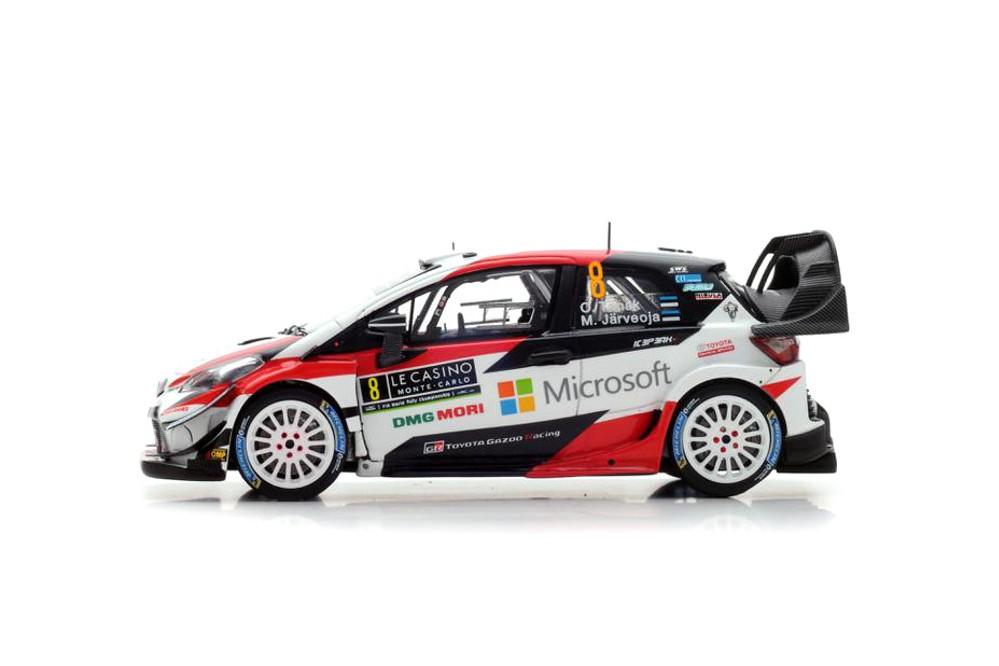 Toyota Yaris Wrc Rally Monte Carlo 2018 O Tanak M Jarveoja