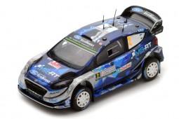FORD Fiesta WRC Ganador Rally Italia 2017 O. Tanak / M. Jarveoja - Spark Escala 1:43 (s5167)