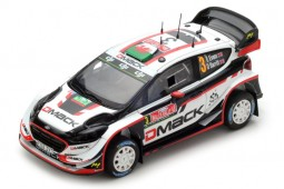 FORD Fiesta WRC Ganador Rally Great Britain 2017 E. Evans / D. Barritt - Spark Models Escala 1:43 (s5174)