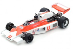 McLaren M23 F1 World Champion 1976 Winner GP Francia J. Hunt - Spark Scale 1:43 (s4362)