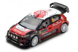 CITROEN C3 WRC Rally Monte Carlo 2018 K. Meeke / P. Nagle - Spark Escala 1:43 (s5960)