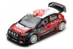 CITROEN C3 WRC Rally Monte Carlo 2018 C. Breen / S. Martin - Spark Scale 1:43 (s5961)