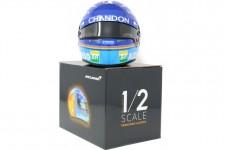 CASCO BELL Fernando Alonso McLaren MCL33 Renault 2018 - Bell Escala 1:2 (4145517)
