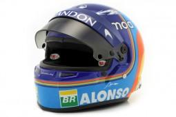 BELL HELMET Fernando Alonso McLaren MCL33 Renault 2018 - Bell Scale 1:12 (414517)