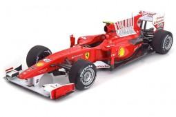 FERRARI F10 Formula 1 GP Bahrain 2010 Fernando Alonso - Hot Wheels Elite Scale 1:18 (T6257)