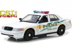 FORD Crown Victoria Police Interceptor 2003 - CSI: Miami (2002-2012) - Greenlight Escala 1:18 (13514)
