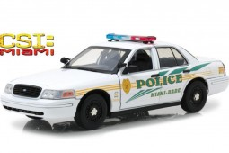 FORD Crown Victoria Police Interceptor 2003 - CSI: Miami (2002-2012) - Greenlight Scale 1:18 (13514)