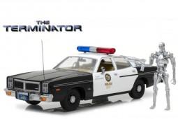 DODGE Monaco Metropolitan Police 1977 Incluye Figura T800 - Terminator (1984) - Greenlight Scale 1:18 (19042)