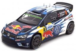 VOLKSWAGEN Polo R WRC 3rd Rally Tour de Corse 2016 A. Mikkelsen / A. Jaeger - Ixo Scale 1:18 (18RMC018C)