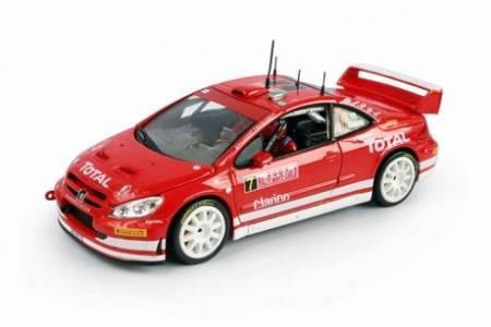 PEUGEOT 30 WRC - nº7 Rally Monte Carlo 2005 - M. Gronholm / T. Rautiainen