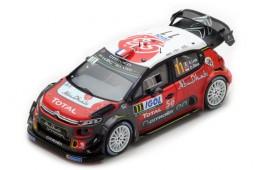 CITROEN C3 WRC Rally Tour de Corse 2018 S. Loeb / D. Elena - Spark Scale 1:43 (s5969)
