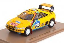 PEUGEOT 405 T16 Ganador Rallye Paris Dakar 1990 A. Vatanen / B. Berglund - Spark Escala 1:43 (s5624)