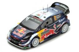FORD Fiesta WRC Rally Monte Carlo 2018 E. Evans / D. Barritt - Spark Scale 1:43 (s5952)