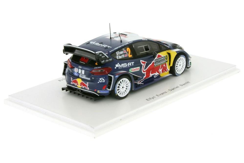 MONTE CARLO 2018 S5952 FORD FIESTA WRC 1//43 SPARK