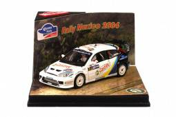 FORD FOCUS RS WRC - nº7 Rally México 2004 - M. Märtin / M. Park