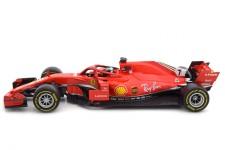 FERRARI SF71H Formula 1 2018 Kimi Raikkonen - Bburago Escala 1:18 (16806R)