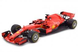 FERRARI SF71H Formula 1 2018 Sebastian Vettel - Bburago Scale 1:18 (16806V)
