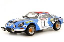 ALPINE A110 1800S Winner Rally Tour de Corse 1973 J. P. Nicolas / M. Vial - Kyosho Scale 1:18 (08485A)