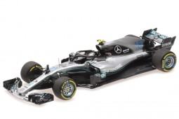 MERCEDES-AMG W09 Formula 1 2018 V. Bottas - Minichamps Scale 1:43 (410180077)