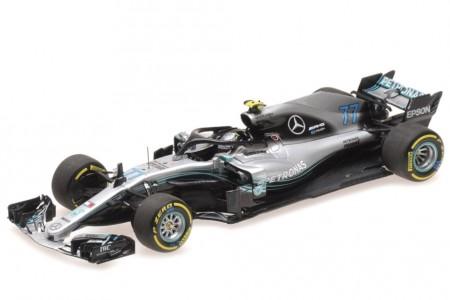 MERCEDES-AMG W09 Formula 1 2018 V. Bottas - Minichamps Escala 1:43 (410180077)