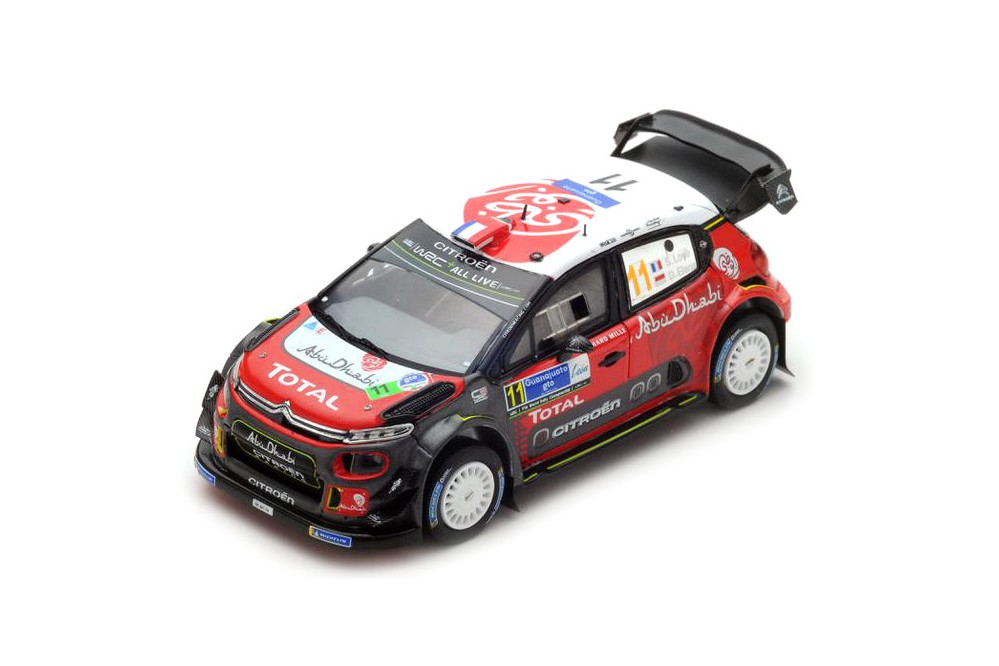 citroen c3 wrc rally mexico 2018 s loeb d elena spark scale 1 43 s5962 racing modelismo. Black Bedroom Furniture Sets. Home Design Ideas