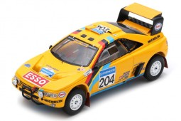 PEUGEOT 405 T16 2nd Rally Dakar 1990 B. Waldegard / J.-C. Fenouil - Spark Escala 1:43 (s5625)