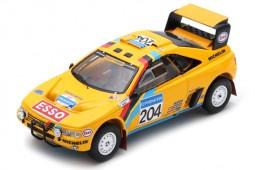 PEUGEOT 405 T16 2nd Rally Dakar 1990 B. Waldegard / J.-C. Fenouil - Spark Scale 1:43 (s5625)