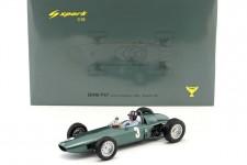 BRM P57 Campeon del Mundo F1 y Ganador GP Sudafrica 1962 Graham Hill - Spark Escala 1:18 (18s225)