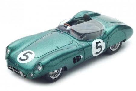 ASTON MARTIN DBR1 Ganador 24h Le Mans 1959 R. Salvadori / C. Shelby - Spark Escala 1:43 (43LM59)