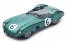 ASTON MARTIN DBR1 2nd 24h Le Mans 1959 M. Trintignant / P. Frere - Spark Escala 1:43 (s2439)
