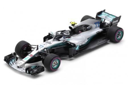 MERCEDES-AMG W09 2nd GP Formula 1 China 2018 Valtteri Bottas - Spark Escala 1:43 (s6053)