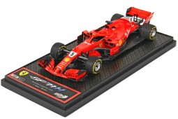 FERRARI SF71H Winner GP F1 Australia 2018 Sebastian Vettel - BBR Scale 1:43 (BBRC204A)