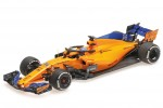 McLaren Renault MCL33 Formula 1 2018 Fernando Alonso - Minichamps Escala 1:43 (537184314)