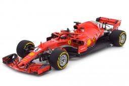 FERRARI SF71-H Winner GP Formula 1 Australia 2018 Sebastian Vettel - BBR Scale 1:18 (BBR181805)