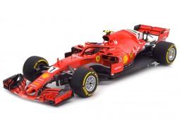 FERRARI SF71-H GP Formula 1 Australia 2018 Kimi Raikkonen - BBR Escala 1:18 (BBR181807)