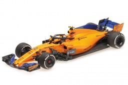 McLaren MCL33 Formula 1 2018 Stoffel Vandoorne - Minichamps Escala 1:43 (537184302)