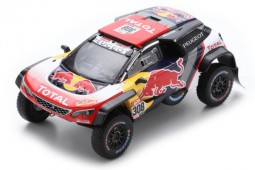 PEUGEOT 3008 DKR Maxi Rally Dakar 2018 C. Despres / D. Castera - Spark Escala 1:43 (s5621)
