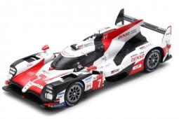 TOYOTA TS050 Hybrid 2nd 24h Le Mans 2018 M. Conway / K. Kobayashi / J.M. Lopez - Spark Scale 1:43 (s7006)