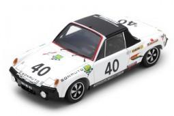 PORSCHE 914/6 GT 24h Le Mans 1970 C. Ballot-Lena / G. Chasseuil - Spark Escala 1:43 (s7506)