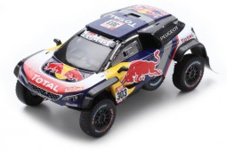 PEUGEOT 3008 DKR Maxi Winner Rally Dakar 2018 C. Sainz / L. Cruz - Spark Scale 1:43 (s5622)