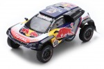PEUGEOT 3008 DKR Maxi Campeon Rally Dakar 2018 C. Sainz / L. Cruz - Spark Escala 1:43 (s5622)