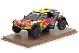 PEUGEOT 3008 DKR Maxi Rally Dakar 2018 S. Peterhansel / J.-P. Cottret - Spark Escala 1:43 (s5620)
