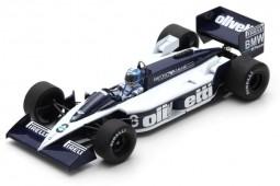 BRABHAM BT55 GP Formula 1 Canada 1986 D. Warwick - Spark Escala 1:43 (s4351)