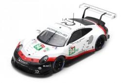 PORSCHE 911 991 RSR 24H Le Mans 2018 R. Dumas / T. Bernhard / S. Muller - Spark Scale 1:43 (s7035)