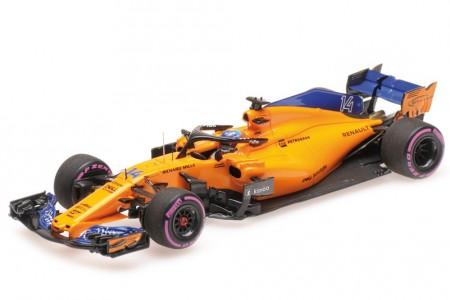 McLaren MCL33 Formula 1 GP Canada 2018- 300 GP Fernando Alonso - Minichamps Escala 1:43 (537184714)