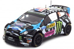 FORD Fiesta RS WRC Rally Catalunya 2014 K. Block / A. Gelsomino - Ixo Scale 1:18 (18RMC017)